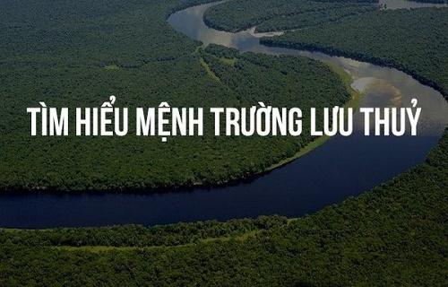Người sinh năm 1952 mệnh Trường Lưu Thủy có nghĩa là nước chảy mạnh