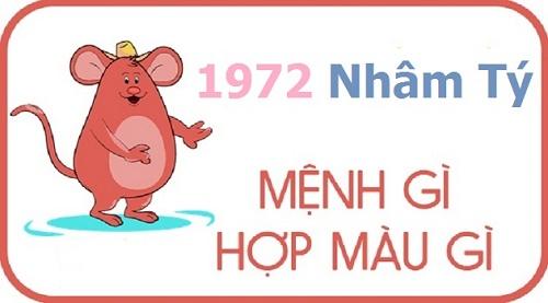Người sinh năm 1972 thuộc mệnh Mộc - Tang Đố Mộc, tuổi con Chuột